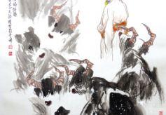 甘肃青年书画家李铁雁山水画欣赏