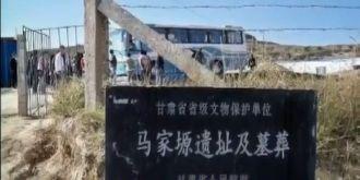 天水张家川县迎回164件马家塬修复文物