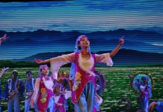 大型音舞诗《关山月》在张家川上演 受观众热捧