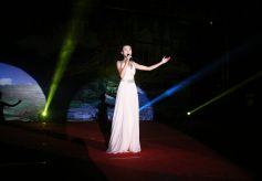 甘肃省民族歌舞团为张家川60周年县庆献演受欢迎