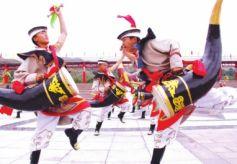 失传的甘肃肃南裕固族牛角鼓重现舞台