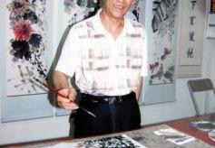 甘肃著名画家邢登科艺术简历、书画作品欣赏