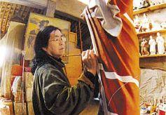 """兰州""""黄河母亲""""雕塑者何鄂:用雕塑表现心灵感受"""