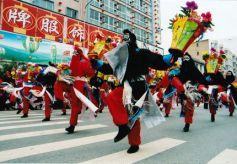 甘肃省级非物质文化遗产:太符灯舞