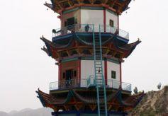 甘肃红色文化之:靖远红色圣地鱼龙山景区