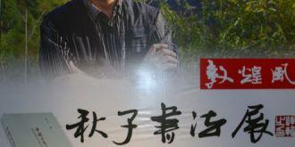 敦煌風·秋子書法作品展亮相甘肅省藝術館