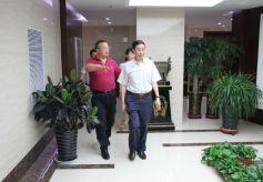 甘肃省委宣传部副部长马成洋考察甘肃省文化产业集团