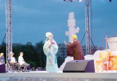"""白银曲子戏亮相首届""""乡村舞台""""亮相群众文化艺术节"""