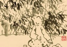 """""""老树画画"""":走过艺术与人生的双重萧瑟"""