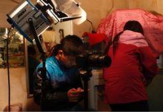 甘肃在校大学生主创微电影《秦家沟的故事》在静宁开机拍摄