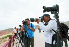 甘肃知名摄影家奔波3天 记录张掖大美风光