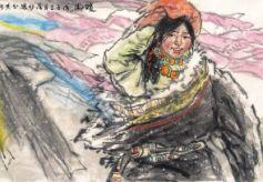 甘肃籍中国美术家协会会员李葆竹中国画作品赏析