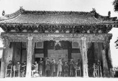 兰州金崖镇往事:曾为部队产百万条抗战军毯