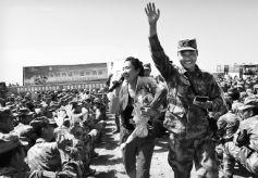 甘肃省文联文艺志愿服务团走进戈壁军营慰问演出