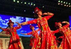 """第五届""""湿地之夏·金张掖旅游文化艺术节""""开幕式举办"""