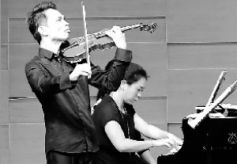 """西安音乐学院青年小提琴家田晖琴""""醉""""金城"""