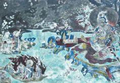 甘肃酒泉瓜州东千佛洞:流淌着西夏的月色