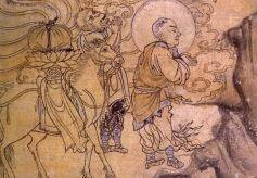 甘肃敦煌壁画现中国最早玄奘取经图 揭秘西行艰苦历程