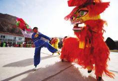 第十四届兰州春节文化庙会在兰州举行