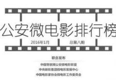 全国公安微电影排行榜新年首发 甘肃白银作品入围