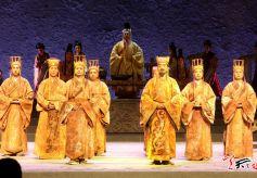 天水原创秦剧《大秦文公》在北京长安大戏院上演
