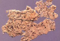 甘肃天水放马滩出图的7幅战国木板地图