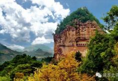 甘肃佛教文化石窟长廊:之麦积山石窟