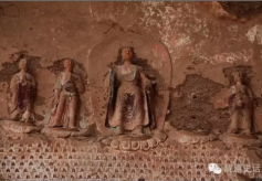 甘肃佛教文化石窟长廊:之武山水帘洞石窟