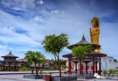甘肃著名佛教文化寺院:之山丹大佛寺