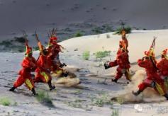 甘肃武威文化瑰宝攻鼓子舞