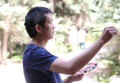 甘肃油画家牛浩东个人画展将在北京新华书画院展出