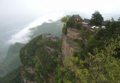 """甘肃成县鸡峰山国家森林公园 故有""""鸡峰耸翠""""之美"""