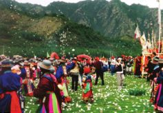 甘肃天祝三峡森林公园 甘肃面积最大国家级森林公园