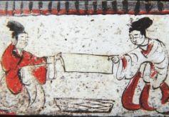 甘肃高台骆驼城出土墓群画像砖:展示魏晋尘世生活
