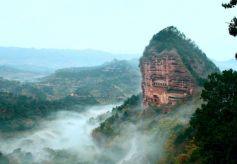 """甘肃天水被评为""""2016最聚人气的山水旅游名城"""""""