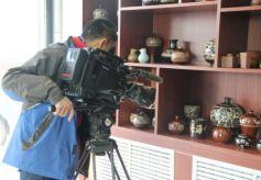 中央电视台《远方的家》栏目播出白银市平川区陶瓷文化