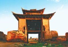张掖山丹峡口见证甘凉古道的历史风云