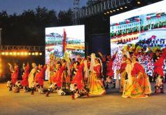 玉门市第十一届铁人文化艺术节在新市区隆重开幕