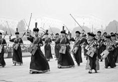 肃北蒙古族自治县2016年第七届那达慕民族文化风情旅游节开幕