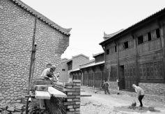 甘肃临泽县丹霞民俗文化旅游村建设进入收尾阶段