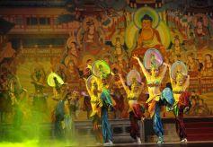 甘肃经典舞剧《丝路花雨》在中央党校举行汇报演出