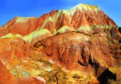 兰州树屏丹霞:绚丽多彩了1亿5000万年