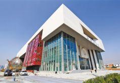 甘肃科技馆即将完工 落成后为西北最大科技博览中心