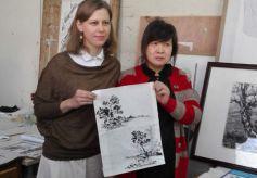 中俄艺术家们在西北师范大学共筑丝绸之路艺术梦