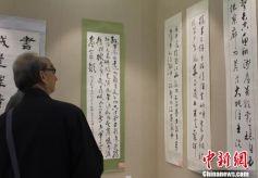 甘肃百名书画家挥毫泼墨纪念红军长征胜利八十周年
