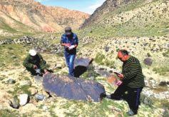 酒泉肃北大黑沟再次发现岩画 成为游牧民族生存的文化见证