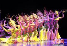 甘肃高校敦煌舞教学展演 传承保护民族文化