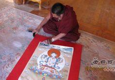 别样彩笔绘人生——记甘南藏族唐卡传承人、工艺美术师交巴加布