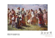 《308绘画作品展(第一回)》将在兰州三木画廊举行