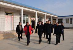 甘肃省文化厅副厅长周奉真调研白银乡村文化阵地建设